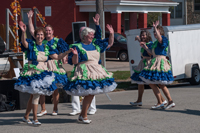The Mulekicker Cloggers at Oktoberfest