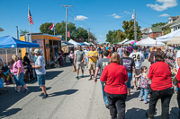 Vendors provided tons of shopping opportunities at Oktoberfest 2015.