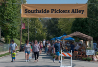 Southside pickers alley, new at Oktoberfest 2016